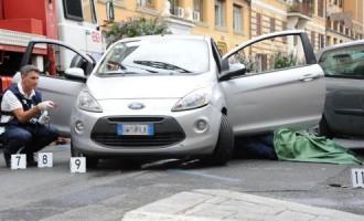 """Prati, ucciso in strada a colpi di pistola Alemanno a Maroni: """"Servono azioni comuni"""""""