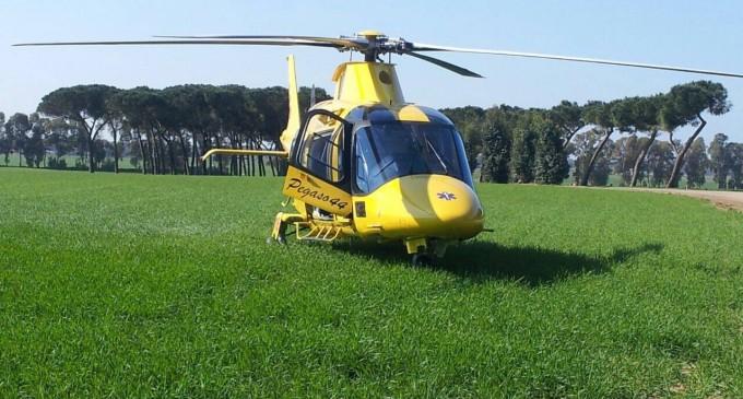 Lucretili/Si ferisce durante la scampagnata di Pasquetta: ragazzo di Marcellina portato in elicottero all'Aurelia Hospital