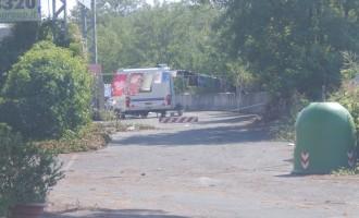 Guidonia. Sgomberato l'insediamento in via di Villa Cappelli