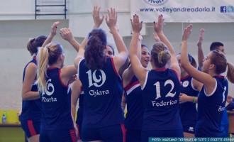 Volley. L'Andrea Doria vince contro il Tibur Volley e va al secondo posto