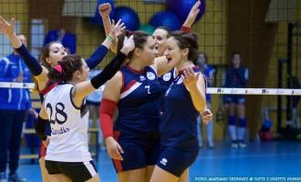 Volley. L'Andrea Doria vince 3 a 2 contro il Volleyrò