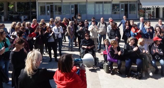 Guidonia/Attesa per gli effetti della direttiva del commissario sul piano dei pagamenti, i lavoratori e le lavoratrici delle cooperative sociali sospendono i preparativi per una nuova manifestazione