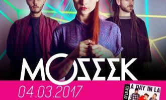 Tivoli Terme/I Moseek, band rivelazione di X-Factor 9, in concerto sabato 4 marzo al Dissesto Musicale