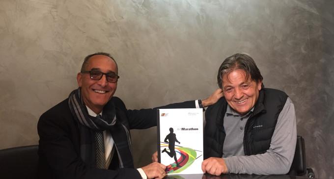 Guidonia/Sport e Cultura nel progetto ArtMarathon: il 2 aprile a Piazza del Popolo la performance di Gerardo Lo Russo