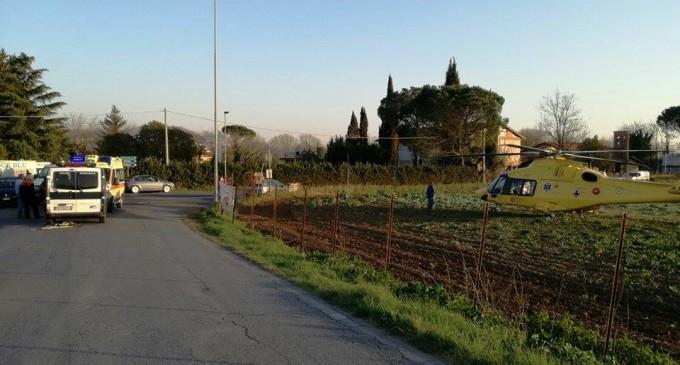 Guidonia/Scontro su via Maremmana: 2 feriti