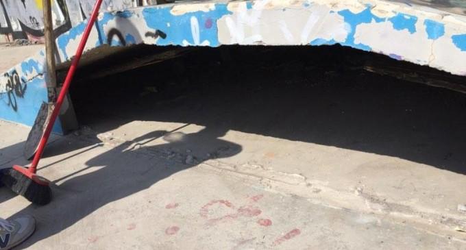 Colle Fiorito/Prosegue la riqualificazione dello Skate Park da parte dei militanti di CasaPound: domenica 23 aprile la giornata finale