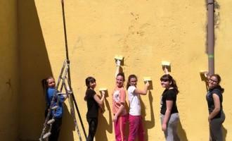"""Guidonia/""""Curiamo i nostri spazi"""", muri di nuovo senza scritte e grondaie riparate: l'impresa dell'Alta Squadriglia Pyxis"""