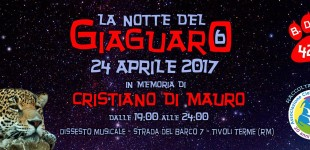 Tivoli Terme/E' la Notte del Giaguaro: la festa di compleanno in memoria di Cristiano Di Mauro al Dissesto