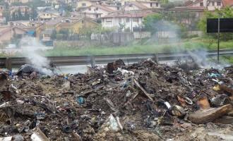 """Guidonia/L'amministrazione commissariale dichiara guerra allo scarico abusivo di rifiuti: """"Necessario l'aiuto di tutti i cittadini"""""""