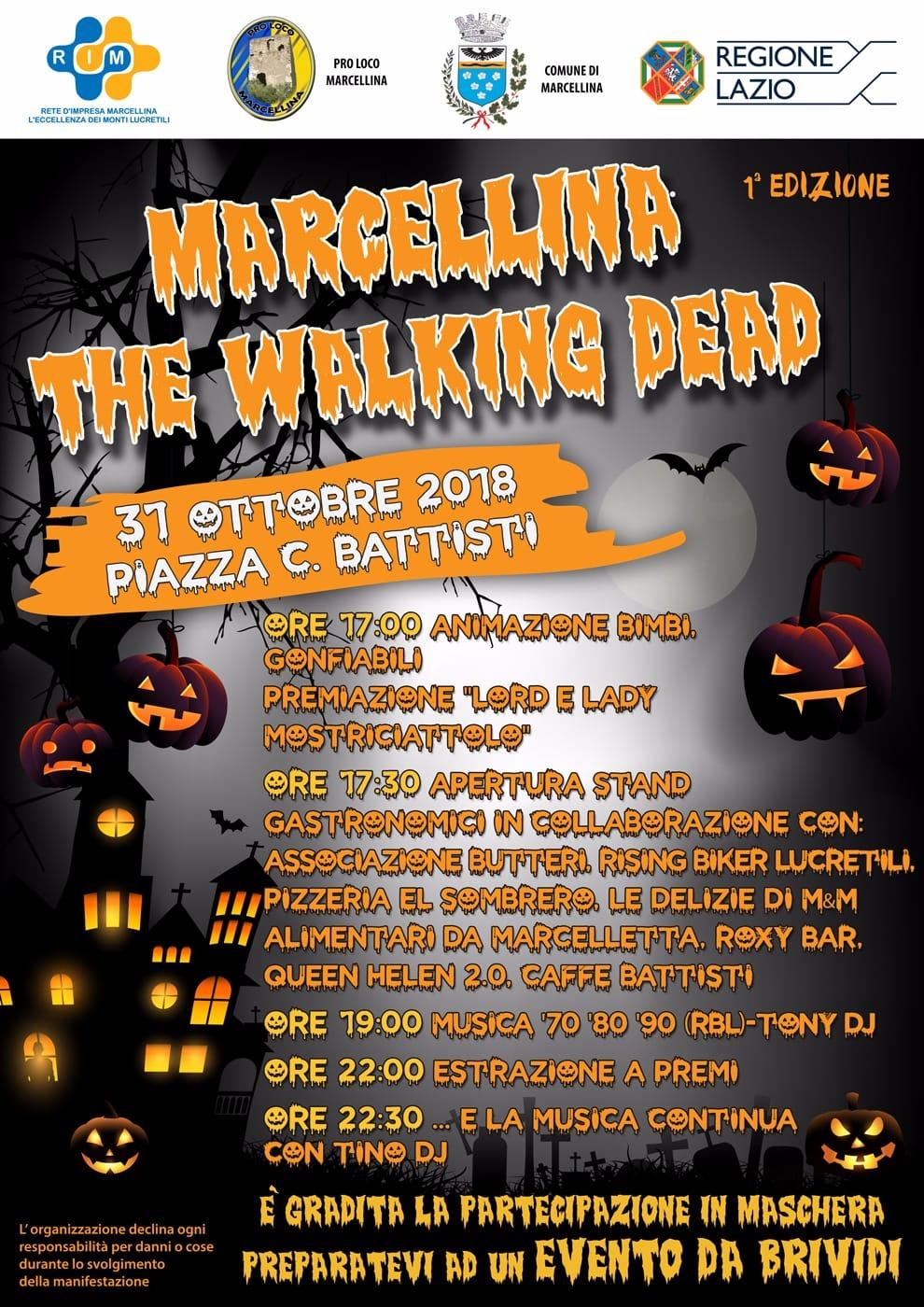 Festa Di Halloween A Roma.Marcellina La Rete Di Impresa Festa Di Halloween Roma Est Magazine